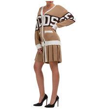 Mini Vestido para mujer con logotipo GCDS CC94W020300-14 manga larga vestido de escote en V