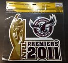 62809 MANLY SEA EAGLES 2011 PREMIERS LARGE LOGO TROPHY CAR SPOT STICKER DECAL