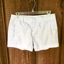 Womens Stylus White Chino Shorts Size 2