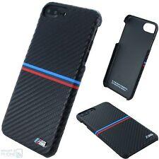 BMW M Carbon Back Cover iPhone 7 Plus, 6 Plus Hard Case Schutz Hülle Tasche blk