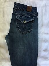 Lucky Brand Boot Cut Jeans Size 28 or 6, Made Is USA, Lucky Brand Zoe Jeans
