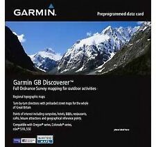 Garmin GB Discoverer GREAT BRITAIN FULL paese SD CARD 010-C1043-00