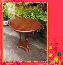Solid Mahogany French Provincial Furniture Swan Coffee Table