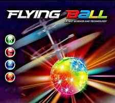 Hand Flying UFO Ball LED Toy Saucer Hovering Induced Infrared Sensor Floating
