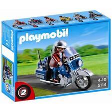 PLAYMOBIL - 5114 - moto de route  neuf jamais ouvert