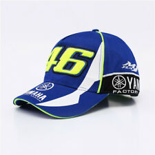 MOTO GP 46 Motorcycle Valentino Rossi F1 Racing Hat VR46 Yamaha Cotton Cap