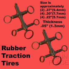 STEAM TRACTION TIRES (10) RIVAROSSI / ATLAS N SCALE