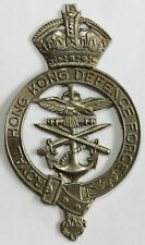 More details for royal hong kong df officer's cap badge commonwealth colonial china