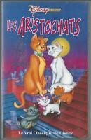 Cassette VHS Du Film Les Aristochats De Wolfgang Reitherman k7 VHS Neuf