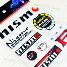 Small 8pcs NISMO Small Reflective Decal Sticker Window Vinyl For Car Auto Nissan
