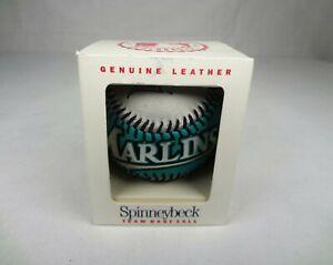 Spinneybeck Leather Baseball Florida Marlins 1994 Souvenir Collectible Ball