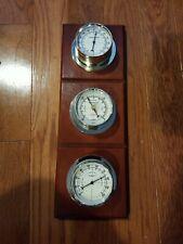 "New listing Vintage Sunbeam Barometer Humidity Temperature Weather Station 16"" Tall"
