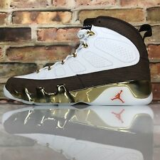 fb20b066d4b201 Air Jordan 9 IX Retro MOP Melo Mens Size 10.5 Gold Baroque Brown 302370-122