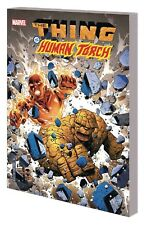 MARVEL COMICS MARVEL TWO-IN-ONE THING & HUMAN TORCH VOL 1 TPB TRADE PAPERBACK