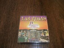 Las Vegas Autentico Bevande Sottobicchieri da viaggio vacanza Souvenir Regalo Set Pack x 4 NUOVO
