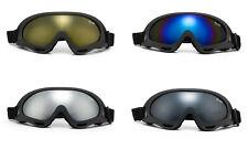 Safety Goggles Full Protection Eyewear Motorcycle Sport Biking UV 100% Glasses