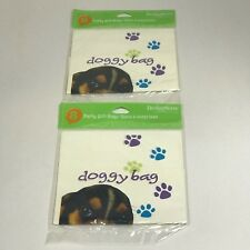 DOGGY - PARTY PUPS GIFT BAGS  - LOT OF 2 PACKAGES