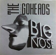 "THE GO-HEADS Big Nose 7"" vinyl single. UK melodic PUNK ROCK. Rare! NEW!"