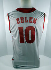 Alabama Crimson Tide Ben Eblen #10 Game Used Grey Jersey