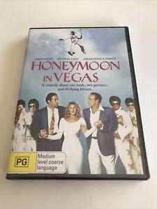 Honeymoon In Vegas DVD Region 4 Sealed NICOLAS CAGE JAMES CAAN