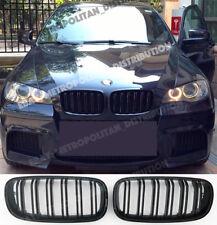 BMW X5/X6,E70/E71,2006-14,double/dual slat/bar X5M/X6M look grille,Gloss Black