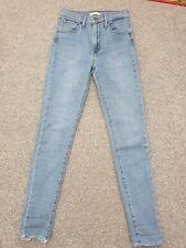 Levis Mile High Super Skinny Jeans Waist 26