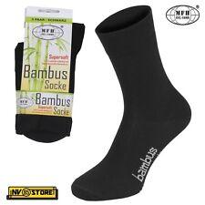 Calze Traspiranti Viscosa di Bambù MFH Socks Bambus 4 Stagioni Tecniche Sport BK