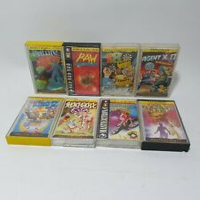8x Mastertronic MAD Sinclair ZX Spectrum Game Bundle Lot Rentakill Rita Agent X
