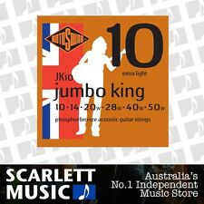 Rotosound Jumbo King Phospher Bronze Acoustic Guitar Strings 10-50 *BRAND NEW*
