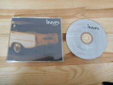 CD Pop Leaves - Breathe (1 Song) Promo WEA / B-UNIQUE  + Presskit
