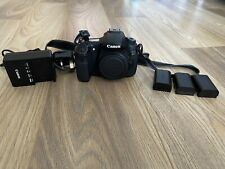 Canon 60d Body With 3 Batteries And Charger