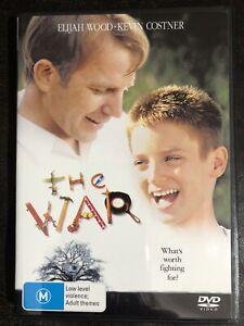 The War DVD Kevin Costner, Elijah Wood - Region 2,4