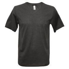 Cotton V Neck Regular Size Singlepack T-Shirts for Men