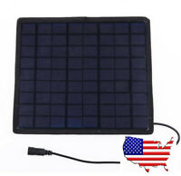 (US) Charger 5.5W 18V Solar Panel Car Charger for Mobile Phone/12V Battery