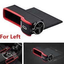 Leather Car Seat Gap Catcher Pocket Coin Storage Box & Cup Holder Left Side Help