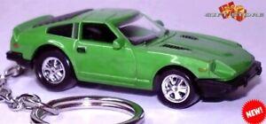 RARE HTF KEY CHAIN 1970/1978 GREEN DATSUN 240Z 260Z 280ZX FAIRLADY Z CAR NEW LTD