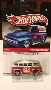 "Hot Wheels ""Slick Rides"" PPG VW Deluxe Bus Mint Carded"