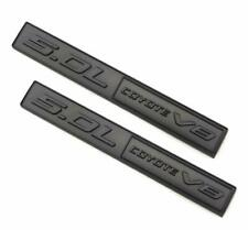 2011-18 For Ford Mustang F-150 5.0 Coyote Emblem Matte Black 2