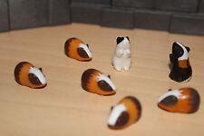 Playmobil - 7x Meerschweinchen - Streichelzoo - Tierpark,  Zoo (528)