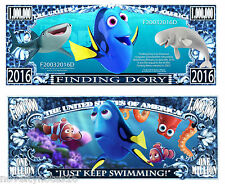 2 Notes Finding Dory Novelty Million Dollar Notes