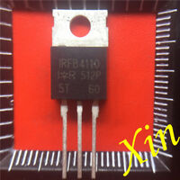 2PCS IRFB4110 FB4110 Transistor N-MOSFET 100V 180A 370W TO220AB NEW