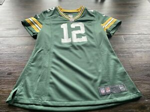 NFL Green Bay Packers Aaron Rodgers Women's Nike On Field Jersey- Medium