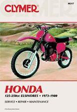 Clymer Repair Service Shop Manual Honda 74-80 CR125,73-80 CR250, MR/MT Elsinore