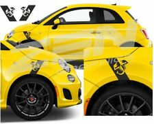 Fiat 500 / 595 / 695 Abarth Scorpion wing fender Decals / Stickers