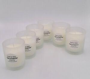 6 Stück Geruchskiller (Küche) Duftglas  - Reidel Kerzen