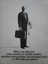 10/75 PUB 3 PAGES LOCKHEED L-1011 TRISTAR AIRLINER STEWARDESS CABIN INTERIOR AD