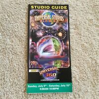 Vintage Universal Studios Florida 360 Cinematic Spectacular 2005 Mint