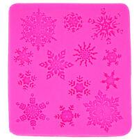 Stampo stelle stelline fiocchi neve natale natalizio decorazioni Cake Design