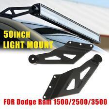 """50"""" Straight LED Light Lamp Bar Mount Roof Bracket for Dodge Ram 1500 2500 3500"""