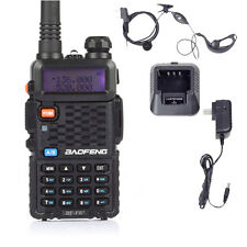 BaoFeng BF-F8+ Dual Band VHF/UHF 136-174MHz&400-520MHz 5W Ham Two-way Radio